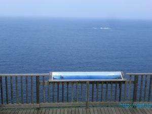 小笠原・父島の展望台から望む